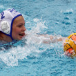Womens water polo — Stockfoto