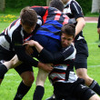 Stock Photo: Rugby match