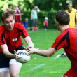 Stock Photo: Touch Rugby Swiss Cup
