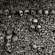 Catacombs or Paris, France — Stock Photo