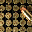 Cartridges of .45 ACP pistols ammo. — Stock Photo #12031575