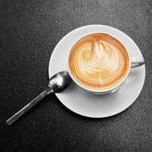 Coffee in white glass. — Stock Photo
