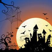 Halloween background — Stock Photo