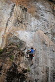 Rock climbling — Stock Photo