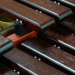 Xylophone close up — Stock Photo