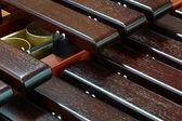 Xylophone close up — Stock Photo