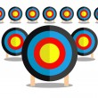 Leadership target — Stock Vector #25318915