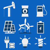 Energie Symbol — Stockvektor