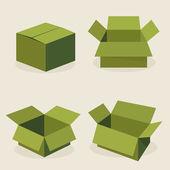 Open box — Stock Vector