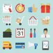 iconos de marketing-ventas — Vector de stock