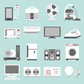Appliances icons — Stock Vector