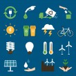 Eco icons set II — Stock Vector #47936331