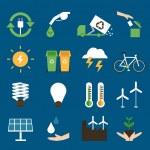 Eco icons set II — Stock Vector #47936331