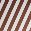 Brown and white diagonal stripes - Stock Photo