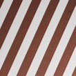 Brown and white diagonal stripes — Stock Photo #12967456