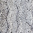 Royalty-Free Stock Photo: Tire tracks on sand