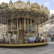 Carousel in the city center. — Stock Photo