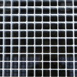 Metal street grate — Stock Photo