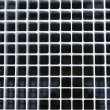 Metal street grate - Stock Photo