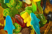Jelly candies closeup — Stock Photo
