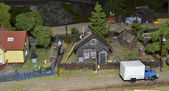 Country life in miniature — Stock Photo