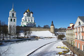Pskov fortress — Stock Photo