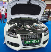 Audi engine — Stock Photo