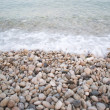 Stock Photo: Pebbles on seashore