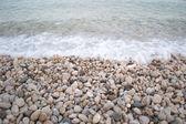 Pebbles on the seashore — Stock Photo