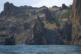 View on Karadag mountain — Stock Photo