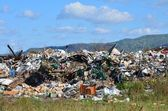 Rubbish dump — Stock Photo
