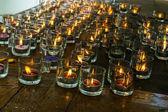 κάψιμο των κεριών — Φωτογραφία Αρχείου