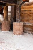 木房子 — 图库照片