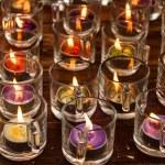 Burning candles — Stock Photo #31741705