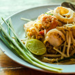 Foto Stock: Thai food Pad thai