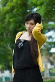 アジアの若い女性の肖像画 — ストック写真