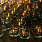 Burning candles — Stock Photo #31816771