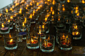 Candele accese — Foto Stock