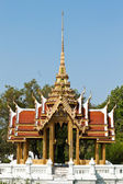 Thai temple in Grand Palace, Bangkok, Thailand — Stock Photo