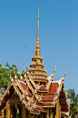 Thai temple in Grand Palace, Bangkok, Thailand — Stock Photo
