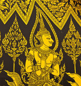 Thai painting art — Stock Photo