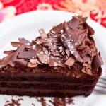 Piece of chocolate cake — Stock Photo #33481225