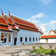 Stock Photo: Buddhism temple of most beautiful in Thailand.