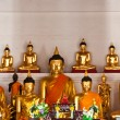 Stock Photo: Golden buddha statue of thailand