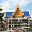 Buddhism temple of the most beautiful in Thailand. — Foto de Stock