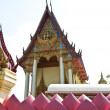 Buddhism temple of the most beautiful in Thailand. — Стоковая фотография