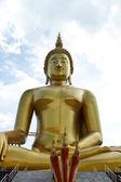 Estátua de Buda dourado da Tailândia — Fotografia Stock