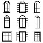Window vector — Stock Vector