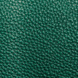 Green leather texture - Stock Photo