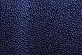 Blauwe leder texture — Stockfoto